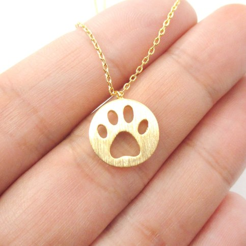 Dog Paw Print Jewelry Rings