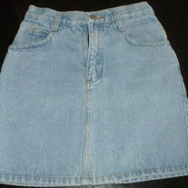 Light Denim Skirt-Gap Size 8