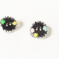 Soot Sprites Earrings  medium photo
