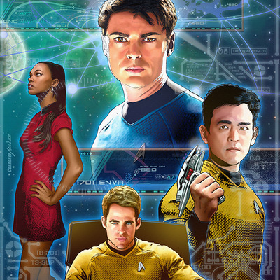 Star trek ongoing #44 artist print