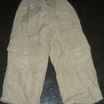 Army Green Lined Pants-Old Navy Size 2T