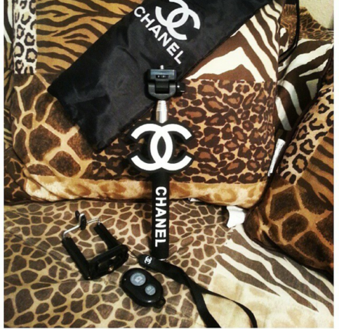 chanel selfie stick the royal life online store powered by storenvy. Black Bedroom Furniture Sets. Home Design Ideas