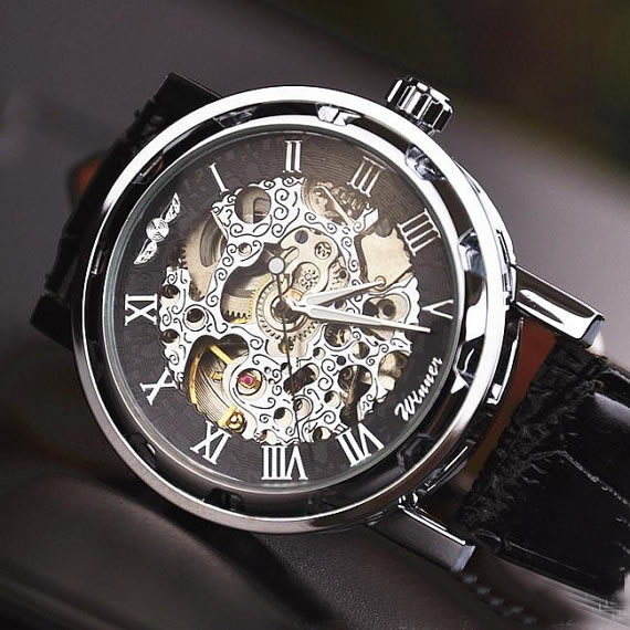 stan vintage watches men s watch vintage style watch men s watch vintage style watch handmade watch leather band watch chain hollow