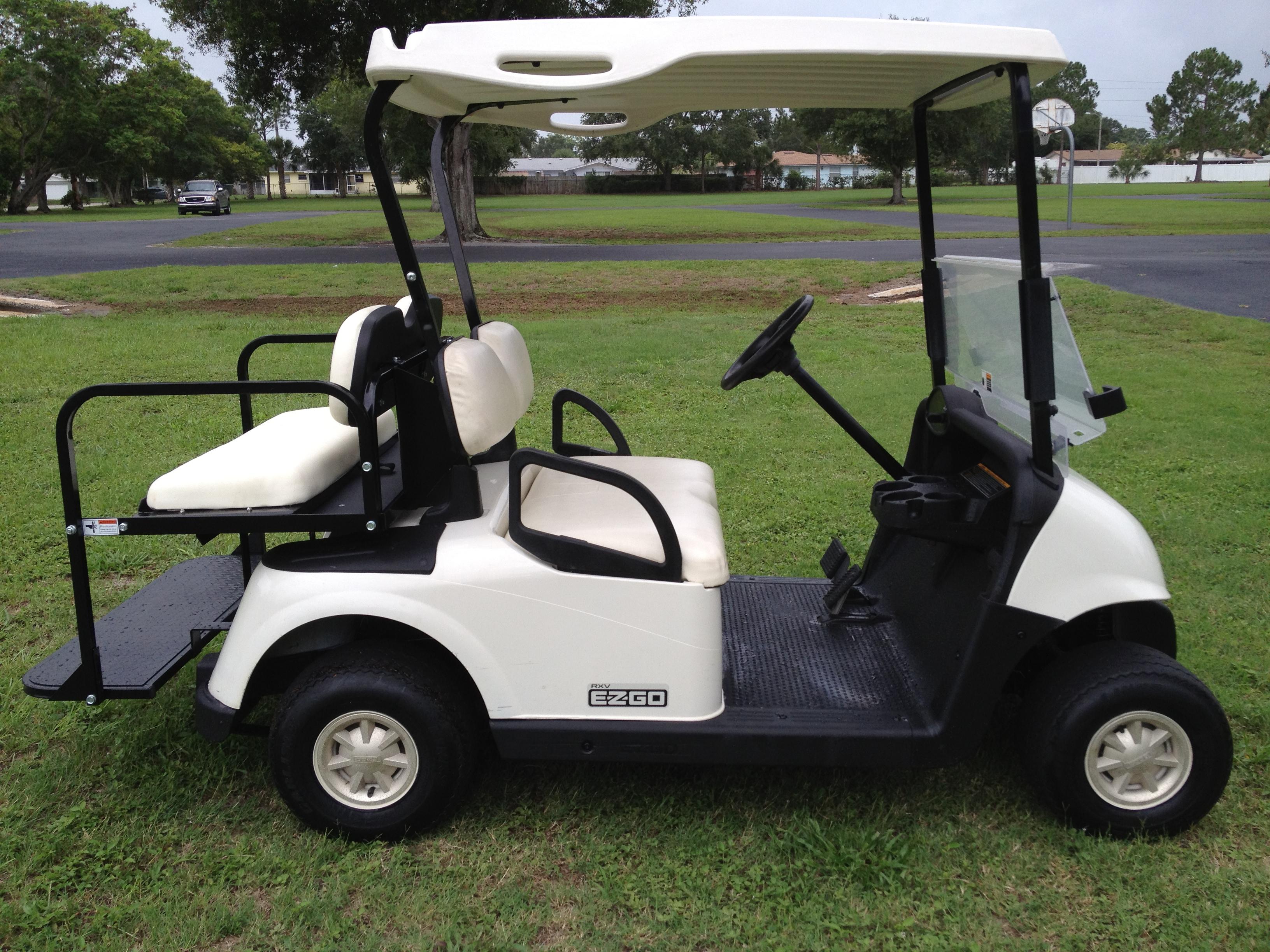 2009 EzGo RXV Golf Cart (4 Seat) · Tiger's Discount Store · Online Golf Cart Discount on discount tool carts, discount shoes, cheap book carts, discount golf mats,