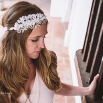 Lace and Floral Crown - 2013 bridal collection