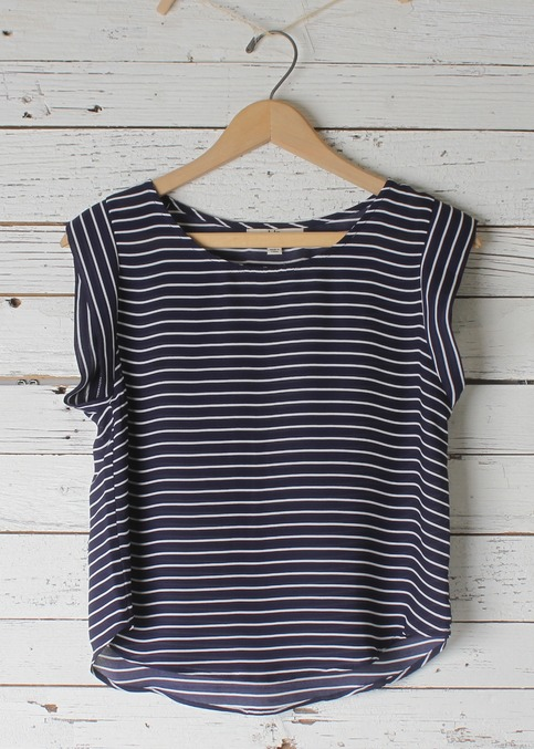 Ceci Striped Tank