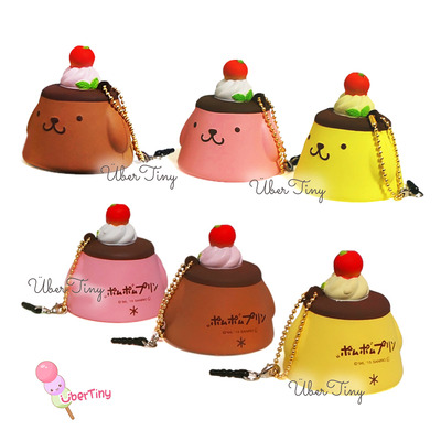 Pom pom purin pudding squishy (licensed)