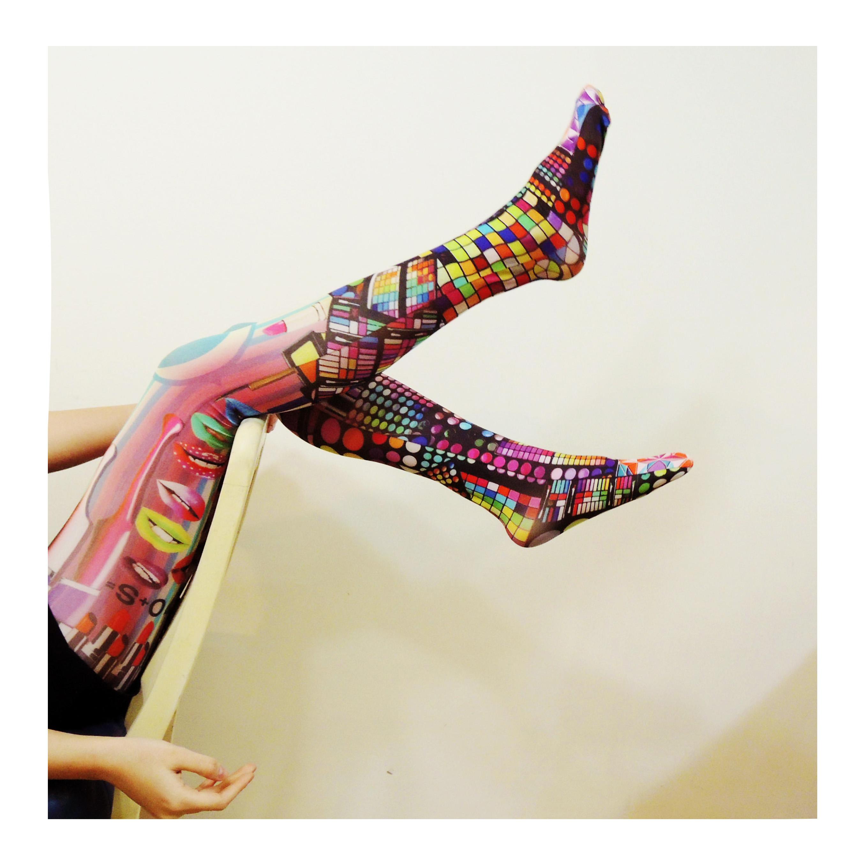 O+S=Make Up!!Baby limited Printed Tights Tights+Socks worthy ...