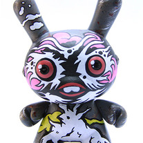 "Tree BunZ Top Pink 3"" Kidrobot Dunny"