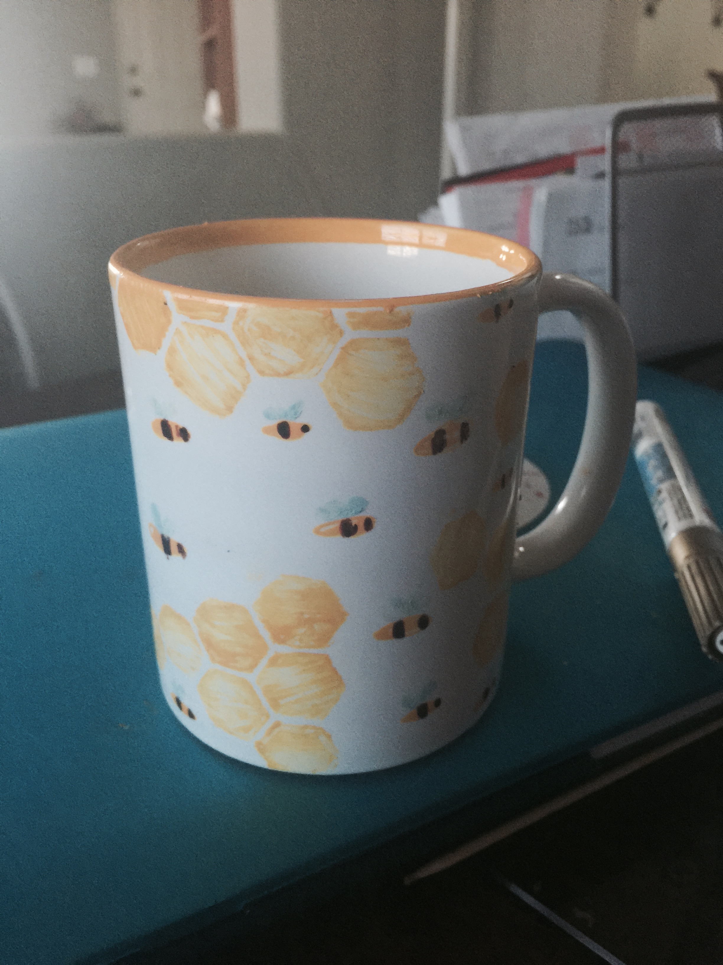 A Marble In A Cup Of Honey : Bee cup · baker street shop online store powered by storenvy