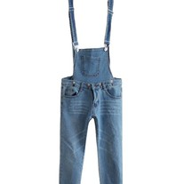 Skinny Cropped Denim overall