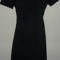 Black Short Sleeve Dress-Duo Maternity Size Medium  CL413