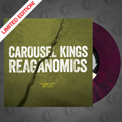 "CAROUSEL KINGS / REAGANOMICS split 7"" [limited]"