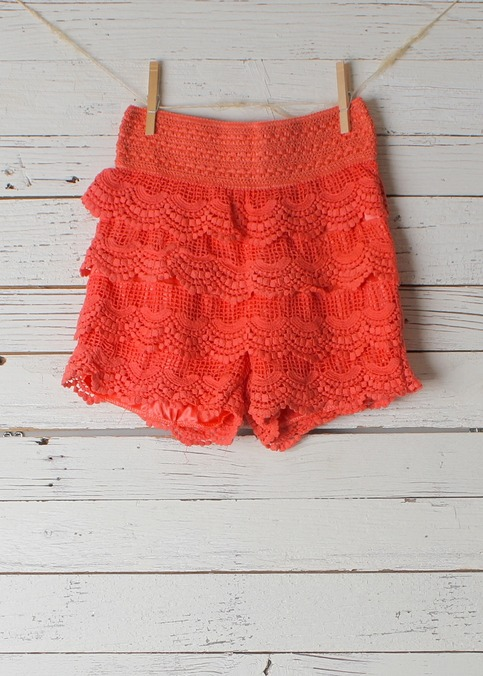 Scarlett Lace Shorts