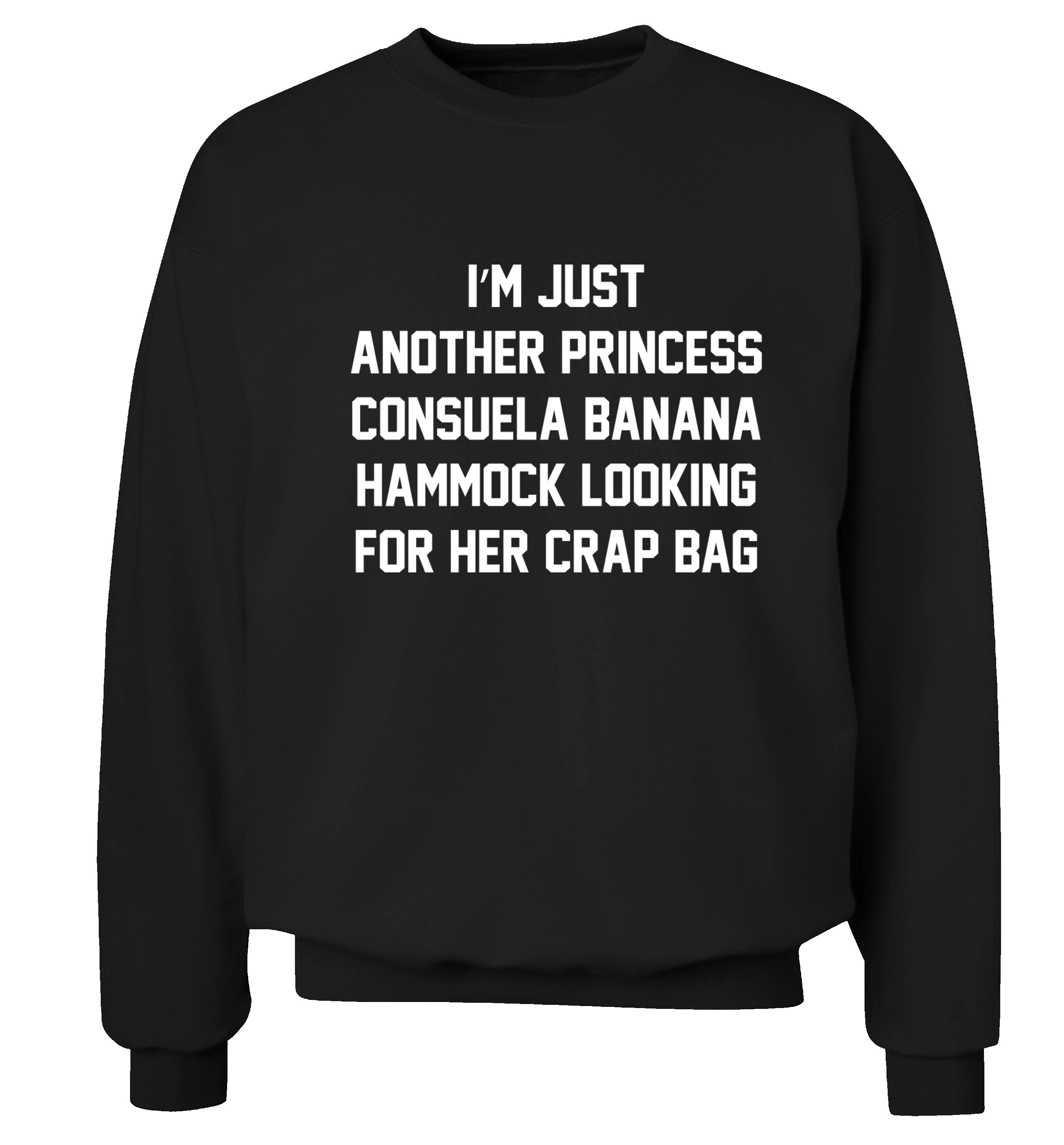 i u0027m just another princess consuela banana hammock looking for her crap bag jumper friends i u0027m just another princess consuela banana hammock looking for her      rh   floxcreative storenvy