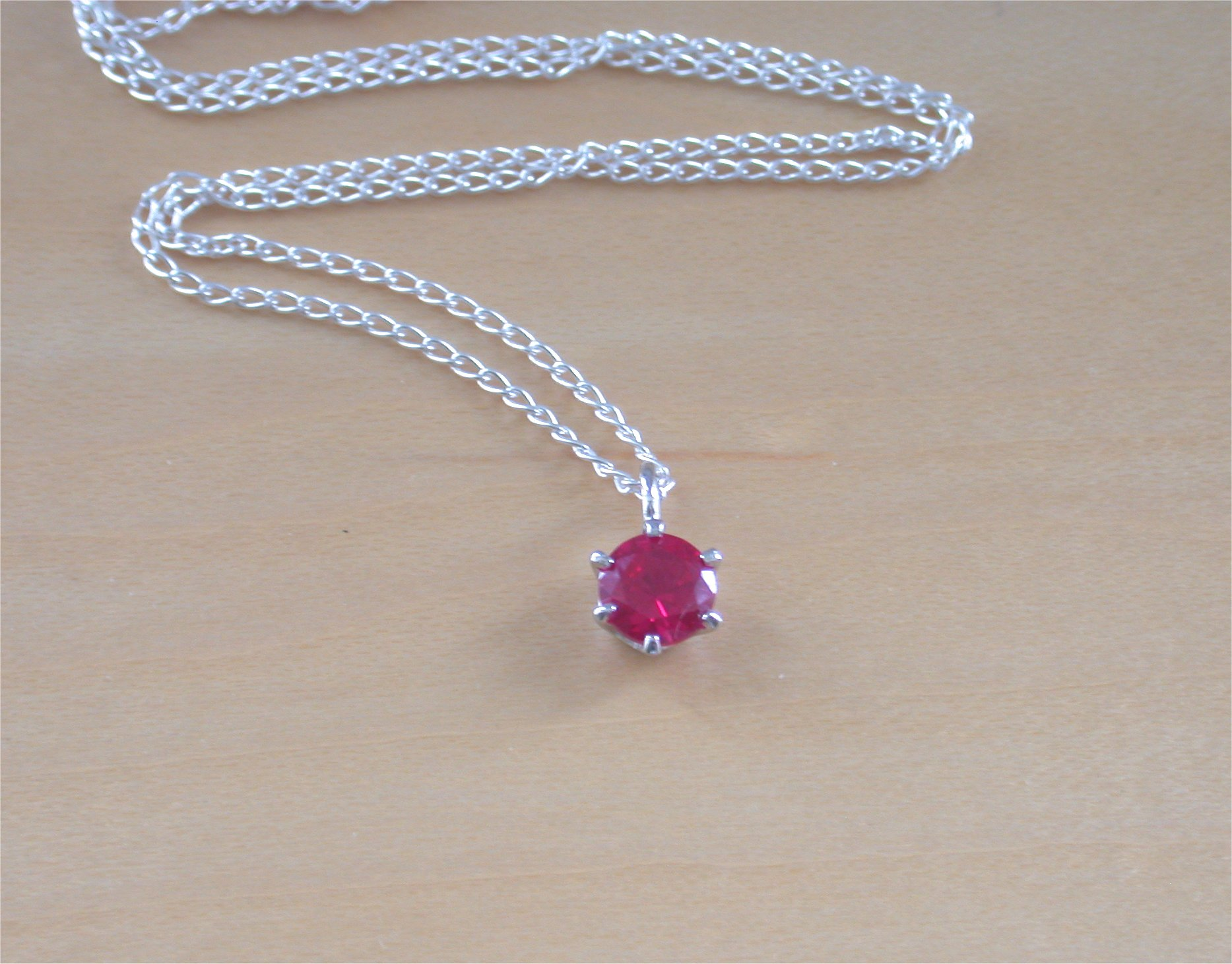 jewellery s handcrafted in ruby bridal silver product necklace with jewelry natural earrings