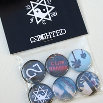 Kalf Life // NIGHTED Button Pack