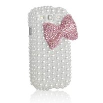 Pearl Bow Case with Pink Case