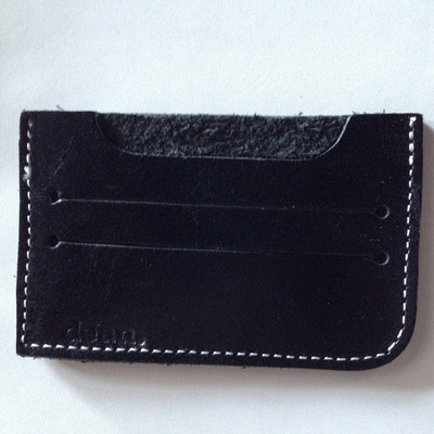 Dean leather card case
