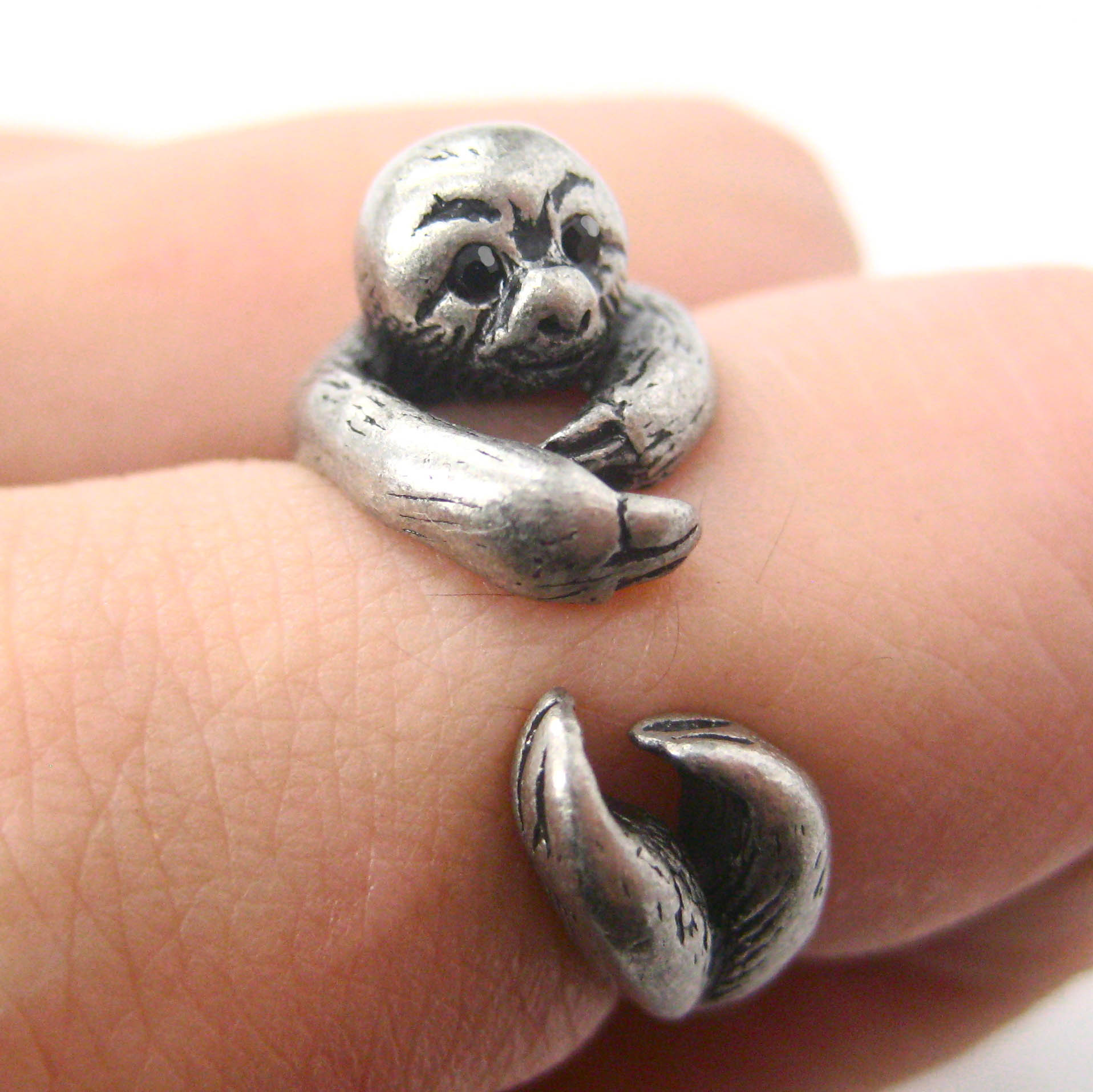 Elephant Wrap Around Ring Uk
