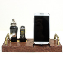 Samsung - HTC - EVO - Droid - Smartphone - Charger and Sync Station - Custom Built Dock - Oak - Deluxe Tube Style