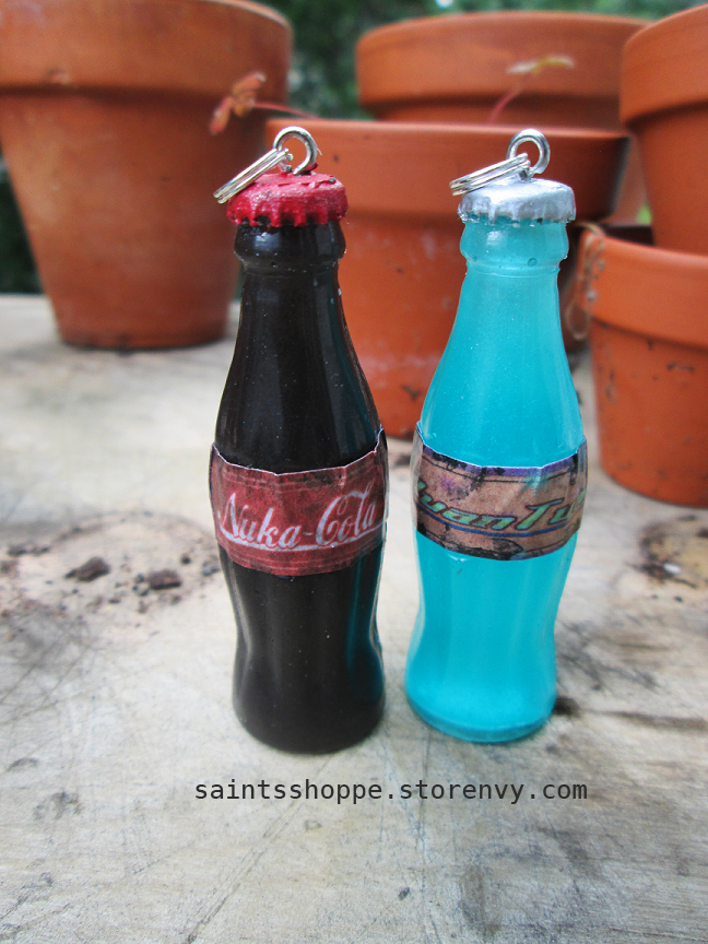 nuka cola nuka quantum bottle charms saint 39 s shoppe online store powered by storenvy. Black Bedroom Furniture Sets. Home Design Ideas
