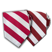 Kappa Alpha Psi Striped Tie (Krimson & Red)