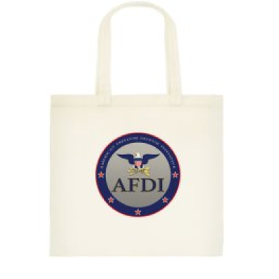 Afdi freedom tote bag
