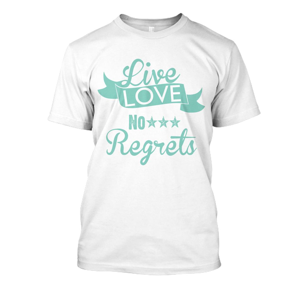 Unisex Llnr T Shirts Livelovenoregrets Online Store