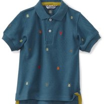 Kitestrings by Heartstrings Polo Shirt - Beetle Bugs