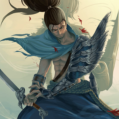 "Yasuo: 11""x17"" poster"