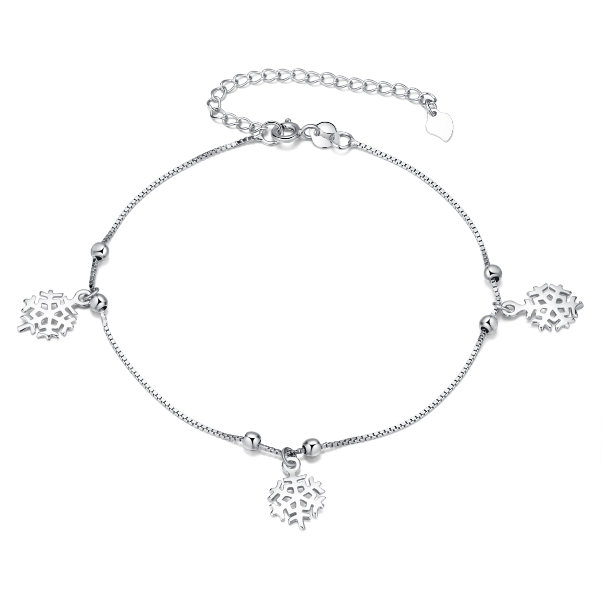 women taraash anklet womens charms for floral products s silver sterling
