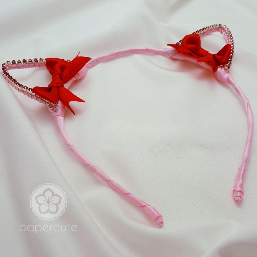 Sailor Moon Style Kitty Cat Ears Headband (Outer Senshi) · Papercute ...