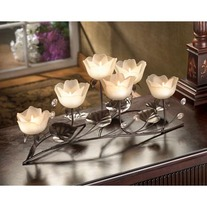#D1112 LOTUS BLOSSOM VOTIVE HOLDER