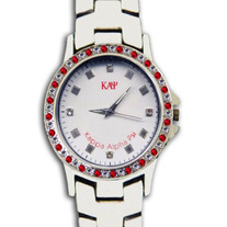 Kappa Alpha Psi Crystal Bezel Watch