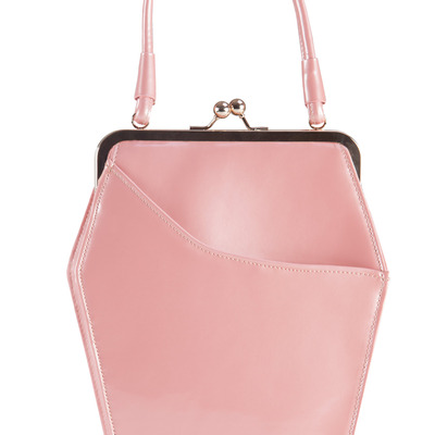 """to die for"" purse - pink"