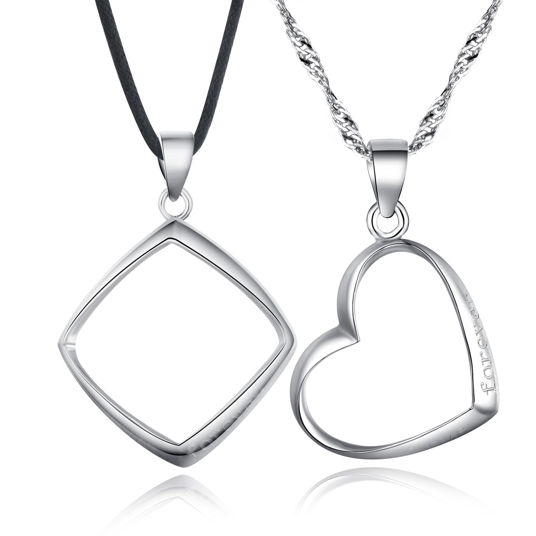 925 sterling rhombus pendant