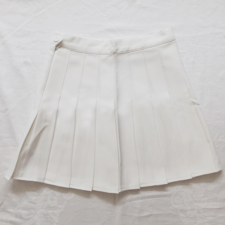 pleated tennis skirt white 183 megoosta fashion 183 free