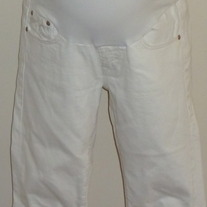White Capris-Mavi from A Pea in the Pod Size XS  05188
