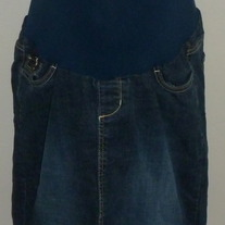 Denim Jean Skirt-Oh Baby by Motherhood Size Medium  GS513