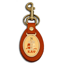 Kappa Alpha Psi Shield Hook Keyfob