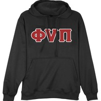 Old Skool Phi Nu Pi Pullover (Black)
