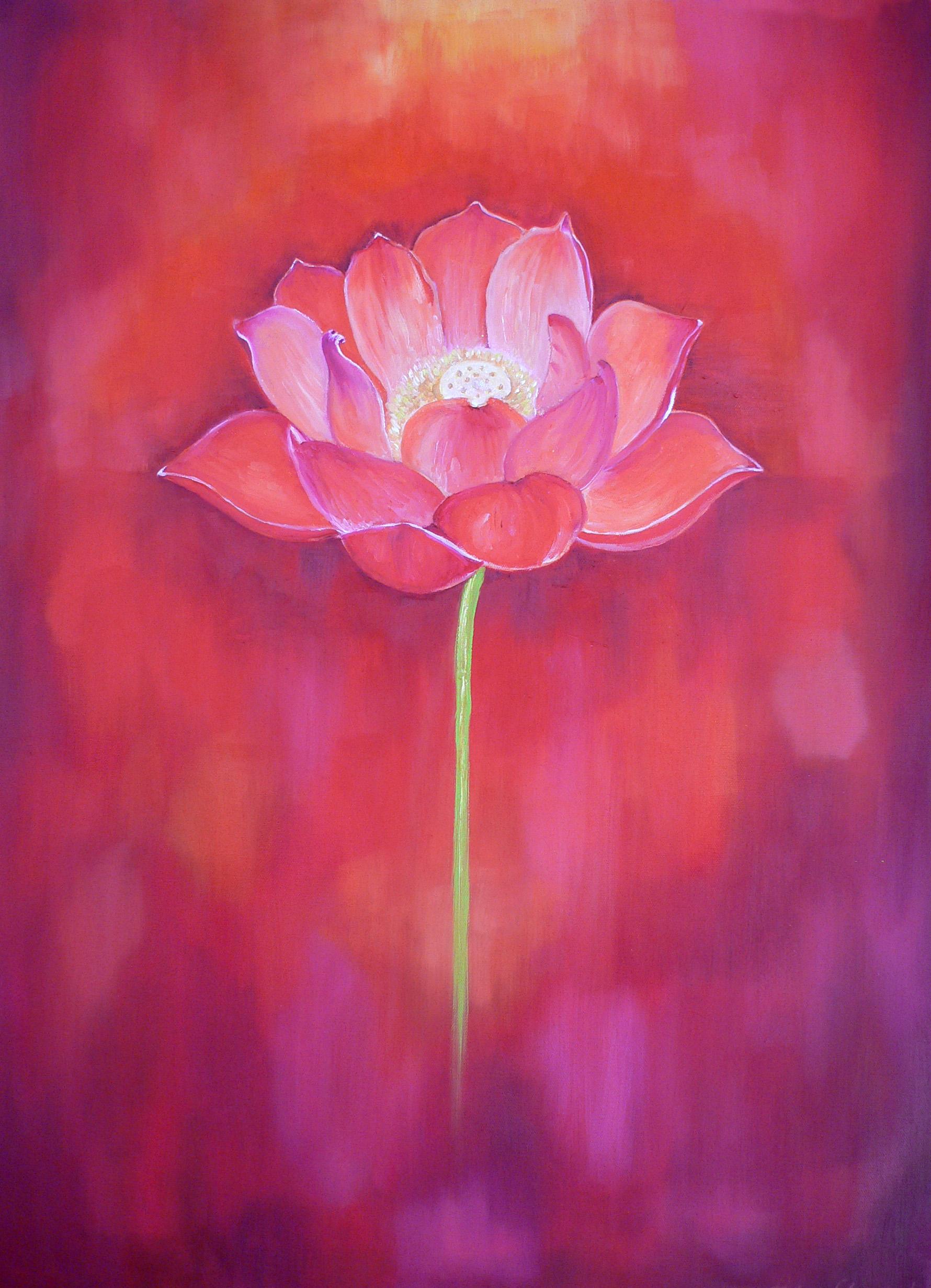 Art red lotus yoni magic by alex florschutz online store art red lotus mightylinksfo