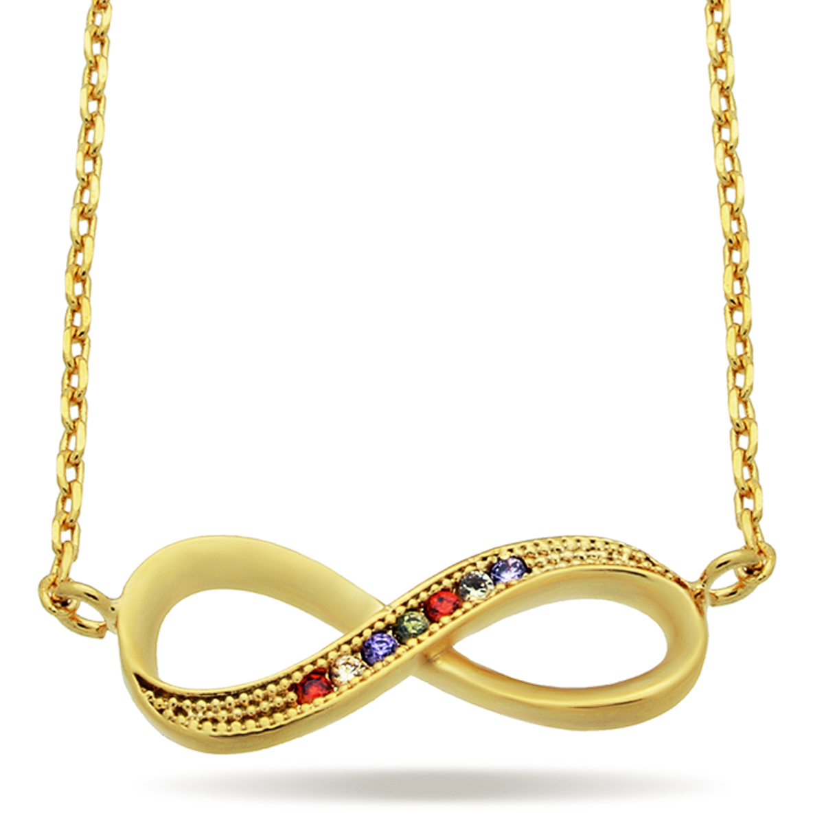 TZARO JEWELRY | 14kt Gold filled Infinity Necklace, Gold ...