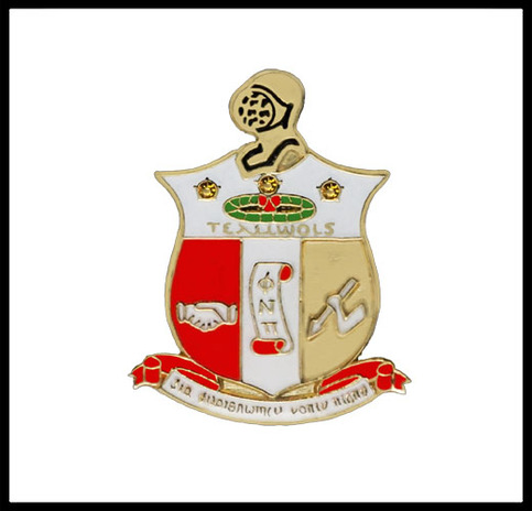 Kappa Alpha Psi Coat of Arms Lapel Pin
