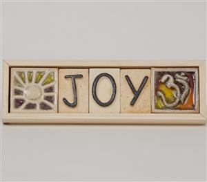 Joy - Plaque