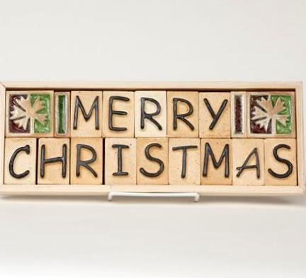 Merry Christmas - Plaque