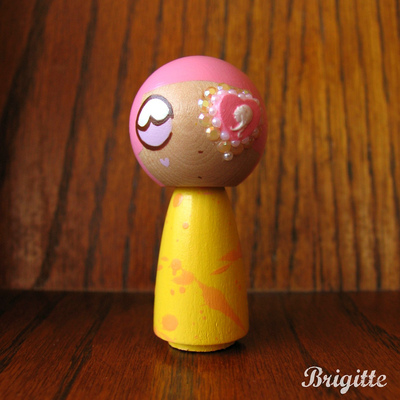 Kokeshi doll #74 taffy