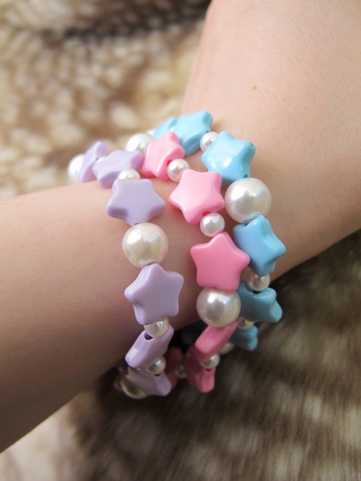 Popsicle Productions | Fairy Kei Rainbow Star Bracelets | Online ...