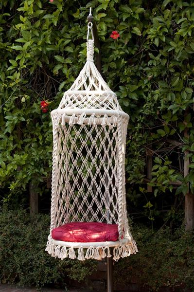 Captivating Birdcage Hanging Chair By HANDS   Thumbnail 1 ...